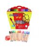 Crayons de couleur Bé-bé Super - 12pcs