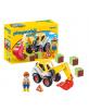 Pelleteuse Playmobil 1.2.3 - 18m+